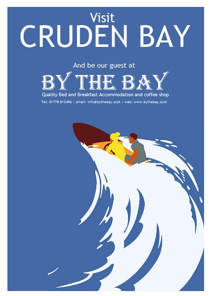 By The Bay speed boat poster