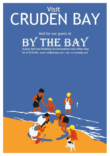 By The Bay Family on the beach poster